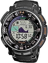 Casio Pro-Trek Men's Radio Controlled Solar Digital Watch PRW-2500-1ER with Resin Strap