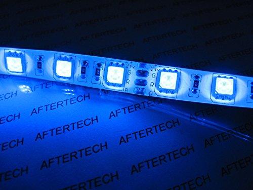 aftertech® 72 W 24 V 24 V 5 m SMD5050 bleu waterproof imperméable LED Strip Bande c5 C4