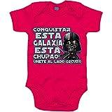 Body bebé Star Wars Darth Vader conquistar esta galaxia está chupado