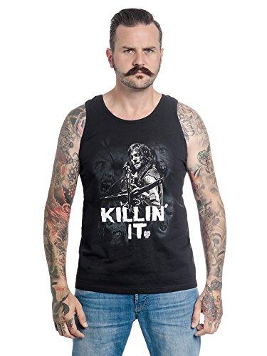 Unbekannt The Walking Dead Killin\' It Top Male Black, Größe:M