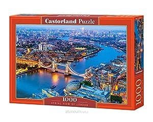Castor País C de 104291-2Aerial View of London, Puzzle de 1000Piezas