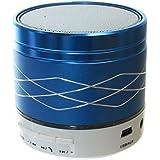 Ultra Mini haut-parleur Bluetooth sans fil portable de poche/TF/lecteur de carte SD–Port USB–Bleu