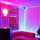 LED UV Röhre 90cm 5050 SMD Schwarzlicht ultraviolettes Licht Leuchtstofflampe UV Neonröhre Tube T8 Leuchte Lampe für 12V Gleichstrom Leuchtstoffröhre dimmbar 230V Party Club Disko Schlafzimmer Lampe Licht Wellenlängenbereich 380nm – 315nm fluoreszierende 600mm mit Netzteil