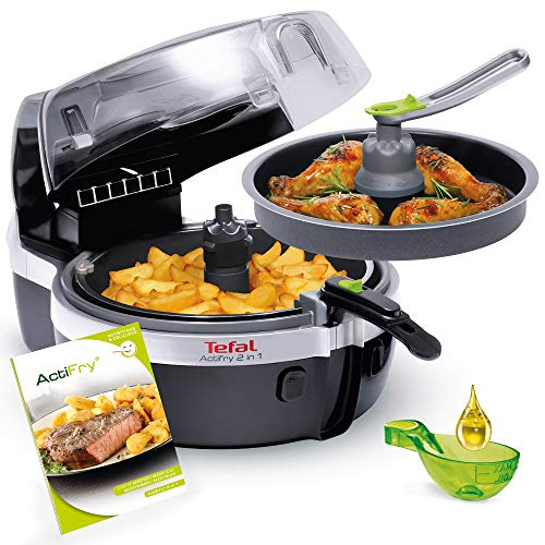 Tefal YV960130 ActiFry 2in1 - Freidora de aire caliente, color...