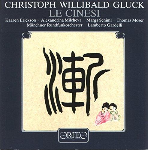 Gluck : Le Cinesi. Erickson, Milcheva, Schiml, Moser, Gardelli.