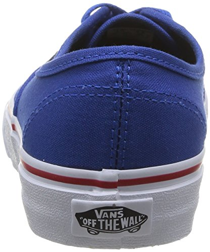 Vans U Authentic Sneakers, Unisex Blu (Princess Blue/Mars Red)