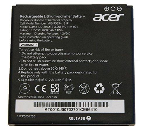Batterie d'origine acer liquid e2 (batterie 2000mAh v370)