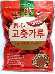 Korean Red Chili Flakes, Gochugaru, Hot Pepper Powder (1 Lb) By Tae-kyung by Nongshim