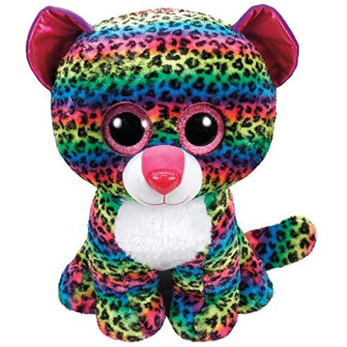 "Beanie Boo Leopard - Dotty - Multicoloured - 42cm 16.5"""