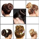 Xuanle Damen Fashion Hair Styling Tool Donut Hair Bun Maker Knotenringe für Lange und Dicke Haare (6 Stücke) Vergleich