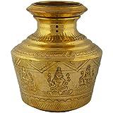 Haristore Brass Ashtalakshmi Kudam