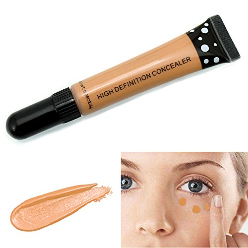Cosmetics Pro Concealer Corrector de alta definición Cobertura completa Corrector de crema altamente pigmentado Maquillaje Cover Foundation Concealer #7