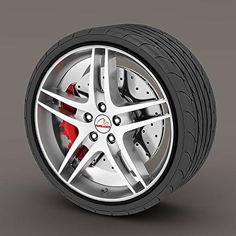 Lexus GS Black Rimblades Alloy Wheel Edge Ring Rim Protectors