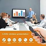 Puntero Laser Presentaciones Doosl Presentador de Diapositivas Remoto Mando para Powerpoint Presentación, Keynote, Prezi, Windows XP/7/8, Linux, Android - Batería AAA No Incluida