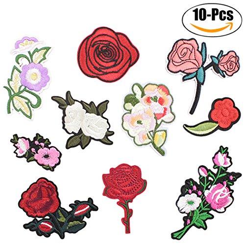 Zoylink Kleidung Patches AnnäHen Patch Dekorative Patches Stickerei Sortierte Dekor Patches DIY Patches Aufkleber AufbüGeln Patch (Patch-dekor)