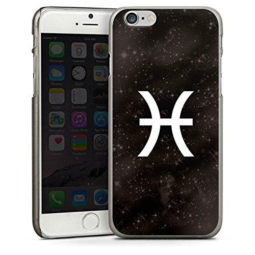 Apple iPhone 5s Housse Étui Protection Coque Poissons Signes du zodiaque Astrologie CasDur anthracite clair