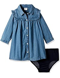 GAP Girls' Shirt Cotton Mini Dress