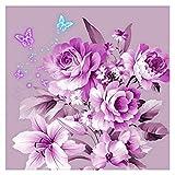Broadroot Blume Schmetterling Runde 5D Diamant Strass Malerei Stickerei DIY Handkreuzstich Set Mosaik Kunst Handwerk Home Decor Geschenk