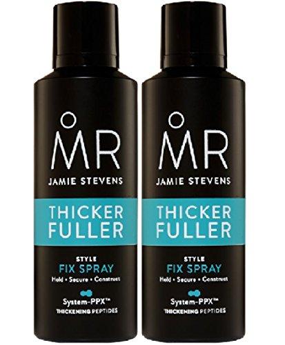 2unidades Sr. Jamie Stevens estilo Fix Spray x 200ml