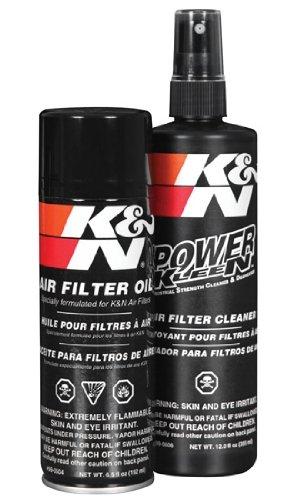 Preisvergleich Produktbild K&N Luftfilterreinigungsset Reinigungs-Kit (Reiniger und Öl) Reinigungsset für Sportluftfilter / Luftfilter 99-5003