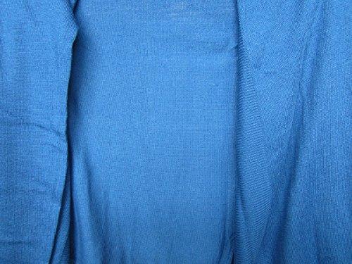 cardigan veste tricotée de Sheego en indigo bleu Bleu
