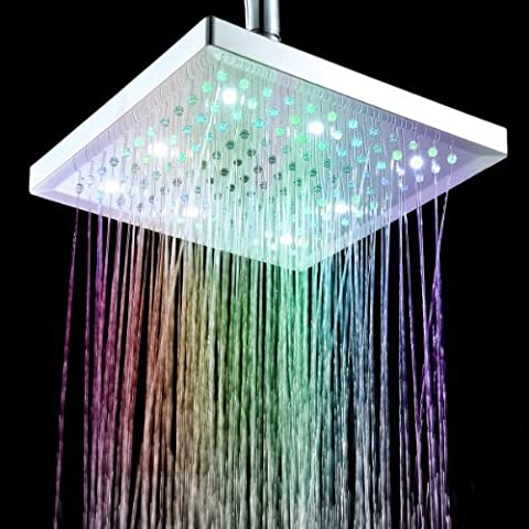 Timetop 7 Colors Changing LED Shower Head Sprinkler /Douche d'arroseuse de tête8