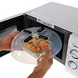 Siddhi Collection Magnetic Microwave Splatter Lid with Steam Vents | Dishwasher-Safe & BPA-Free The Virgo