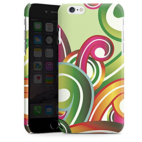 Apple iPhone 5s Housse Étui Protection Coque Fleur Fleur Motif floral Cas Premium brillant