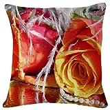 WHALE LANDY Piazza De Ferrari - World- #37804 - Plush Cushion Covers Throw Pillowcases Super Soft Fashion Simple Decorative Pillowcases 18x18 Inches