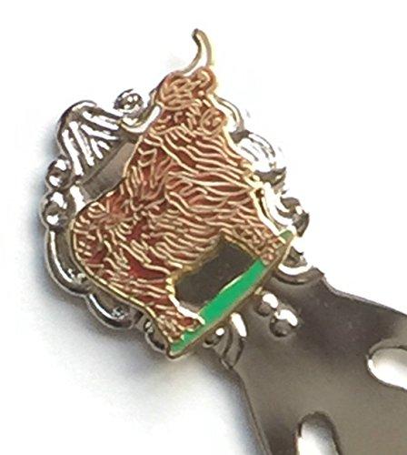 Schottland Highland Kuh Emaille kammmolch Lesezeichen & BRIDE AND GROOM (T166)