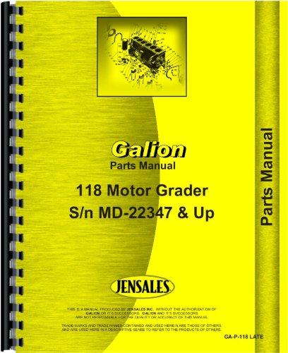 galion-118-grader-parts-manual