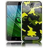 Acer Liquid Z6 Camouflage Army Silikon Schutz-Hülle weiche