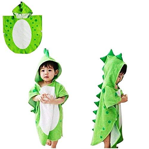 Crazy lin Toalla bebé Toallas baño Capucha Dinosaurio