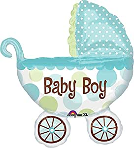 Amscan International Super Shape Baby Buggy Boy