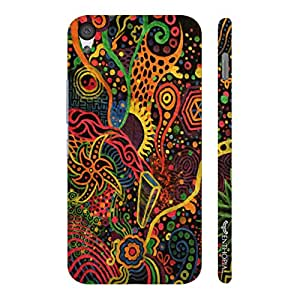 One Plus X RAINBOW CORAL designer mobile hard shell case by Enthopia