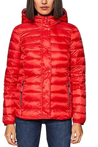 ESPRIT Damen Jacke 128EE1G009, Rot (Red 630), Medium