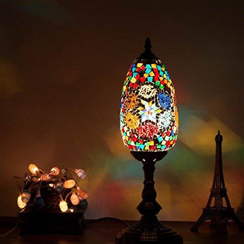 Kesierte LED 5W Turchia palazzo stile vetro decorativo-fatte a mano