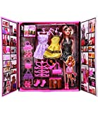 Vivir Beautiful Fashion Doll Wardrobe Set with Dresses and Accessories for Girls (Multicolour)