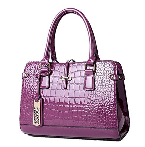 Yan Show, Borsa a tracolla donna kaki Khaki Purple