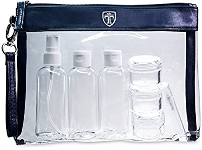 TRAVANDO ® Kulturtasche transparent