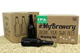 Pack IPA bierbrauset für zuhause   16 Bierflasche 33cl und 100 Kronenkorken   Anleitung in Deutsch