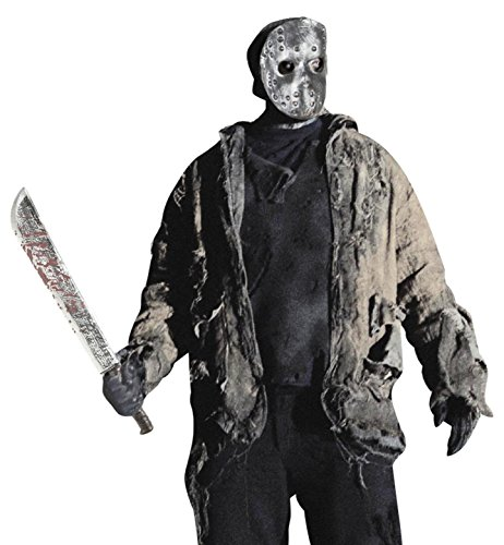 Imagen de bloody machete 75 cm novedad arma y armadura de accesorios para halloween fancy dress up disfraces y trajes alternativa