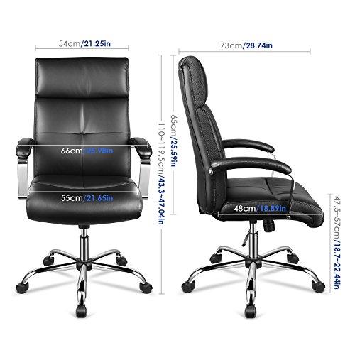 Zoom IMG-3 intey sedia da ufficio ecopelle