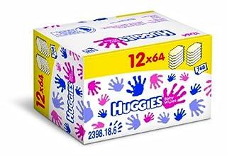 Huggies 2398185 - Toallitas de bebé (12 packs de 64) (B004H4ZFNC) | Amazon price tracker / tracking, Amazon price history charts, Amazon price watches, Amazon price drop alerts