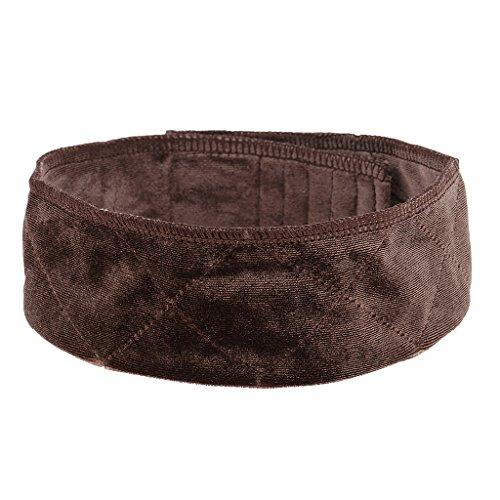 band Haarband Kopfband für Perücken - Wig Headband - Dunkelbraun ()