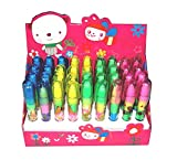 TEMPT® - Birthday Party Return Gifts- Stacking Pen Type Erasers For Kids (36)