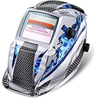 Casco de Soldadura,NASUM Casco Solar-Alimentado de Soldadura de Oscurecimiento Automático Máscara de