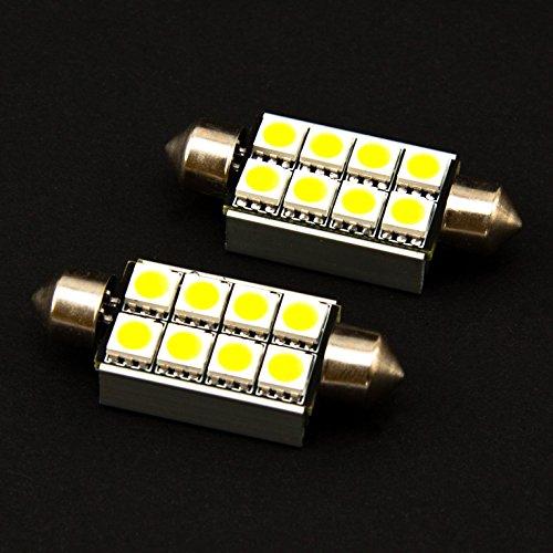 LED Soffitte C5W 41mm 8SMD weiss mit Kühlplatte (Gps-marken-liste)