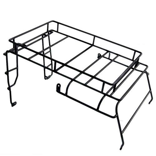 Preisvergleich Produktbild 1 Stück Dachträger Gepäck Roof Rack Gepäckwagen für 1/10 Crawler Modell Auto RC4WD D90 Defender