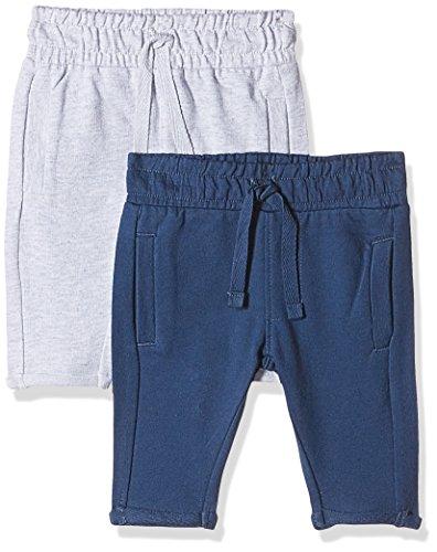 Mothercare Baby Boys' Pyjama Set (Pack of 2)(H6079_Grey_3-6 M)